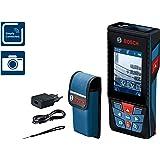 Bosch Professional Medidor láser de distancia GLM 120 C (cámara integrada, transmisión de datos Bluetooth, máx. distancia:120