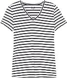 find. Damen T-Shirt mit V-Ausschnitt