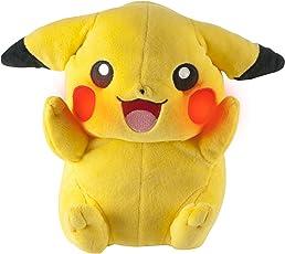 Tomy Pokemon Stofffigur Pikachu Mit Sound und Licht