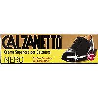 Calzanetto Crema per Calzature Lucido, Nero, 50ml