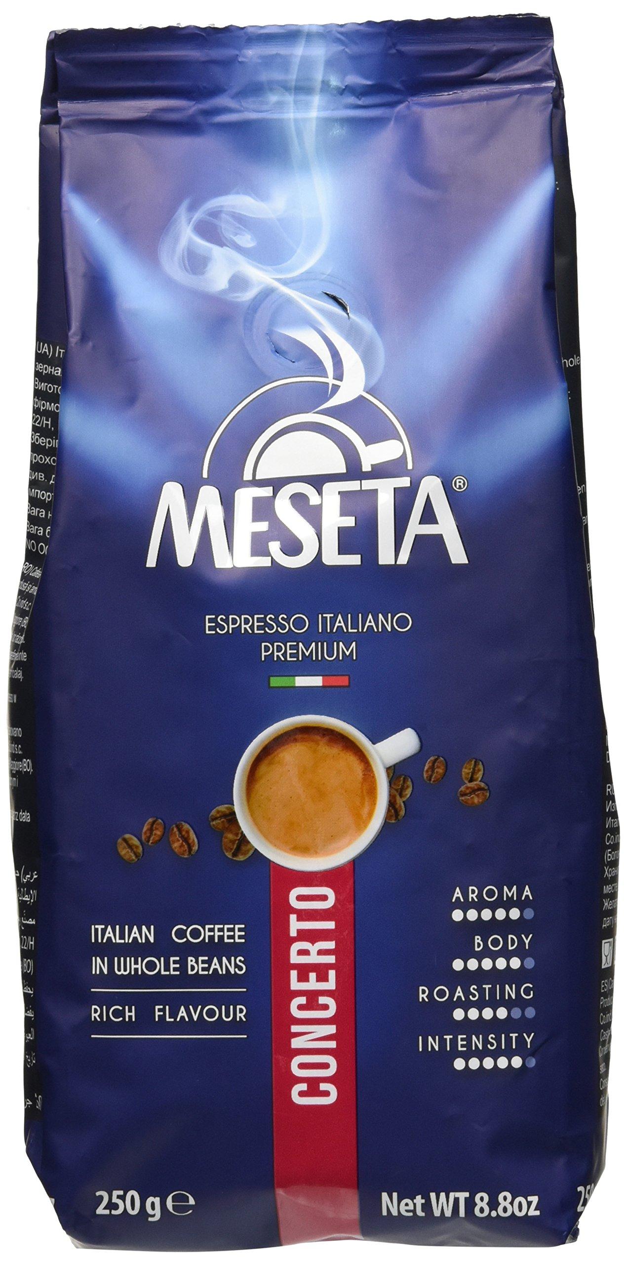 Caffè Meseta Caffè in Grani Concerto - Miscela Classico - 250 grammi 1 spesavip