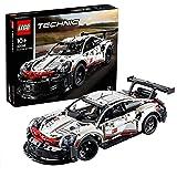 LEGO 42096 Technic Porsche 911 RSR, Byggsats med Leksaksbil, Leksaksbil, Samlingsbar, Barnleksaker