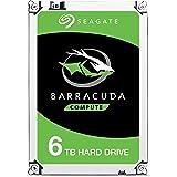 """Seagate Barracuda 6TB 6000Go Série ATA III disque dur - disques durs (3.5"""", 6000 Go, 5400 tr/min, Série ATA III, 256 Mo, Disque dur)"""