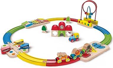 """Hape E3816 - Railway Spielzeug - """"Erlebnis Eisenbahn-Set"""""""
