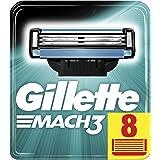 Gillette Mach3 Rakblad för Män, Paket av 8