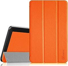 Fintie Fire HD 6 (2014 Modell) Hülle - Ultradünne Lightweight Schutzhülle Tasche Case mit Auto Schlaf/Wach Funktion Standfunktion nur geeignet für Kindle Fire HD 6-Inch Tablet (4. Generation), Orange