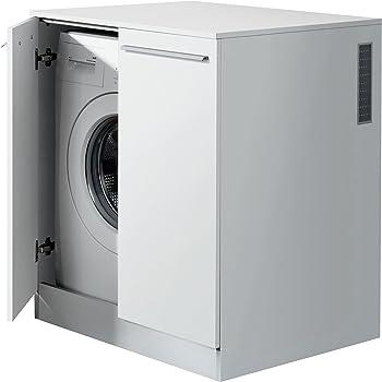 fackelmann waschmaschinenschrank badschrank mit l ftungsgitter ma e b x h x t ca 71 x 91 x. Black Bedroom Furniture Sets. Home Design Ideas