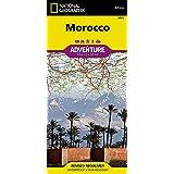 Marokko: NATIONAL GEOGRAPHIC Adventure Maps: Travel Maps International Adventure Map