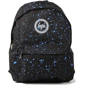 b1a772a2ccb4 Hype Backpack Bags Rucksack - Women - Men - Plain Navy  Amazon.co.uk ...