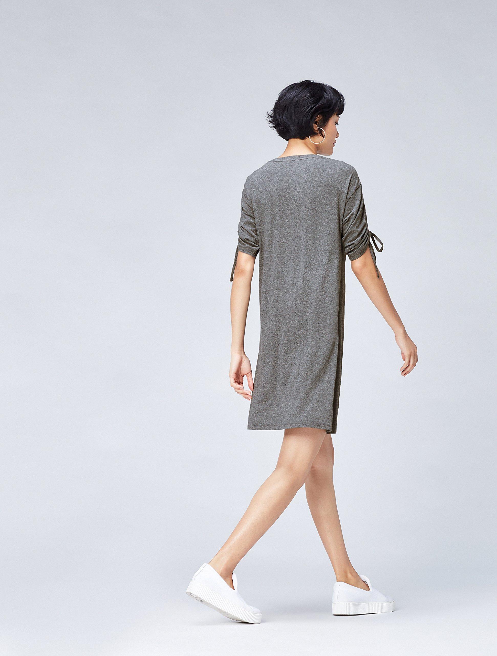 Marchio Amazon - find. Vestito Oversize con Manica Corta Donna 4 spesavip