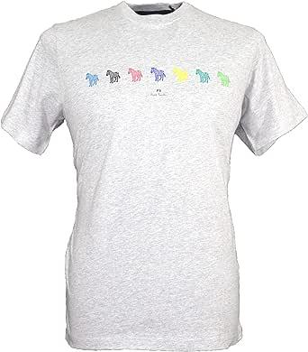 Paul Smith Men`s Zebras Crew Neck T-Shirt - White