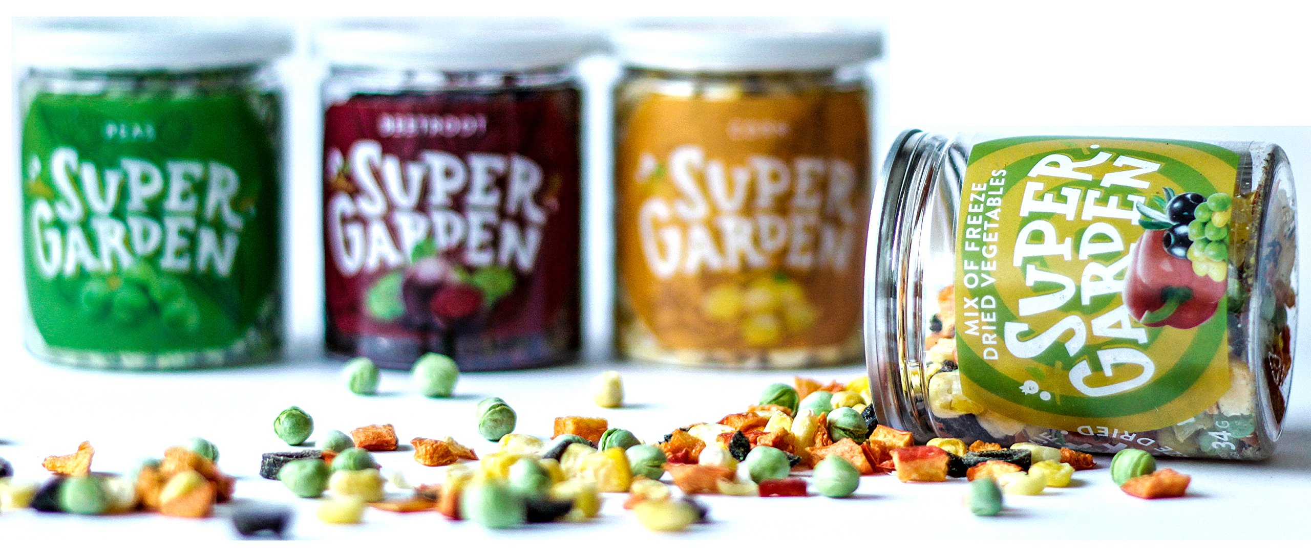 Supergarden Snack Box - Freeze Dried Vegetables < Dried