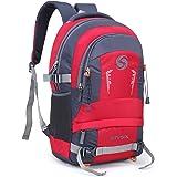 Stysol 35L Waterproof Laptop Backpacks Men & College School Bags Boys (Red)