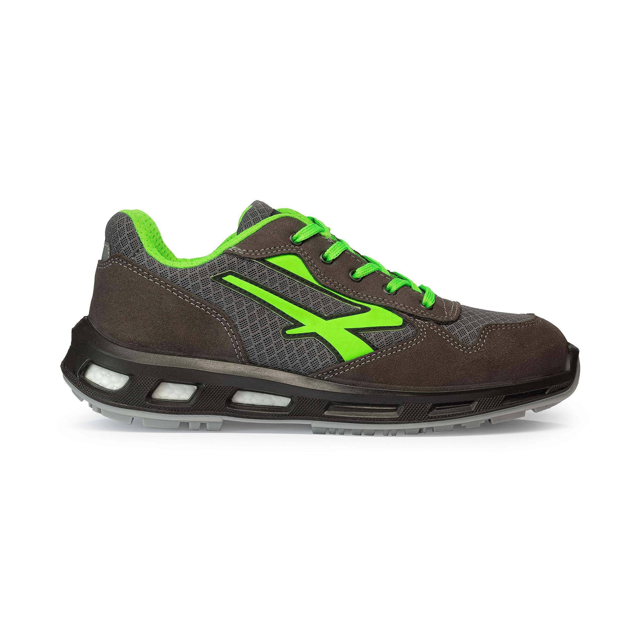 U-Power Chaussures de Sécurité Gris/Vert S1P SRC