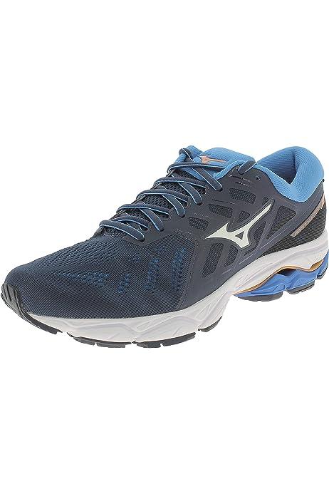 Mizuno Wave Ultima 10, Zapatillas de Running para Hombre, Rojo (Cherrytomato/White/Evening Blue 02), 50 EU: Amazon.es: Zapatos y complementos