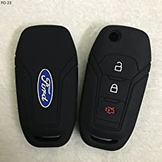 Genxtra® Key Cover for Ford Figo, Aspire and Ford Endeavour (for Flip (Folding) Key only)