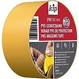 Kip pvc beschermende tape, 50mm x 33m, geel, 1