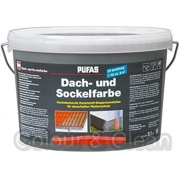 pufas dach und sockelfarbe acrylatfarbe 5 000 l baumarkt. Black Bedroom Furniture Sets. Home Design Ideas