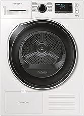 Samsung DV80K6010CW Wärmepumpentrockner/A++/8 kg/Weiß/Blitzschneller Wassertank-Check/SmartCheck