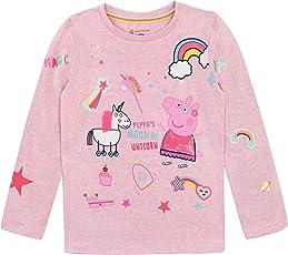 Peppa Wutz Mädchen Peppa Pig Langarmshirt