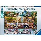 Ravensburger Aimee Stewart Amazing Animal Kingdom 2000 bitar pussel för vuxna och för barn i åldern 12 och uppåt