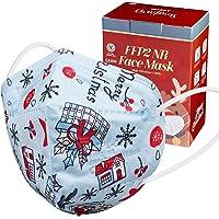 ctc connexions 20 Stück FFP2-Maske , CE0598-Zertifizierung EN149:2001+A1:2009, 5-Lagige Staubmaske Einweg…