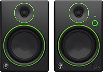 Mackie CR5BT CR Series Channel Studio Monitors with Bluetooth, Black