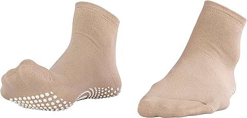 NO FALL Antislip Ankle Length Socks (Pack of 2)