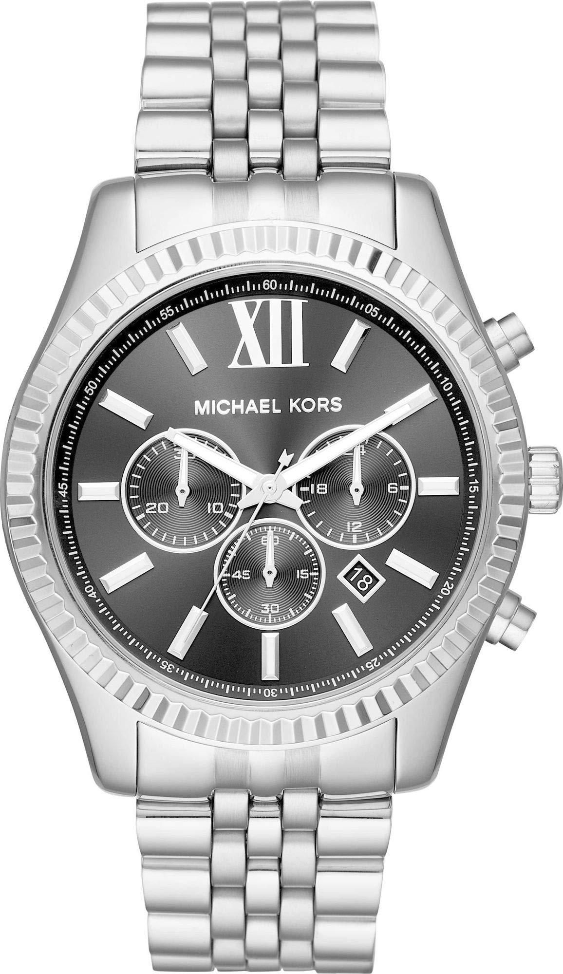 Michael Kors Reloj Analogico para Hombre de Cuarzo con Correa en Acero Inoxidable MK8602