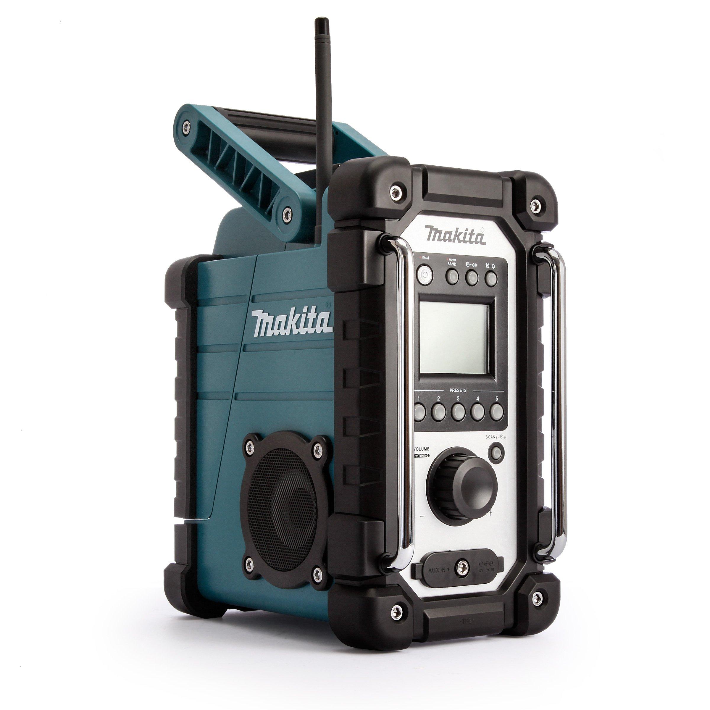 Makita DMR107 Baustellenradio 7,2 – 18 Volt, ohne Akku