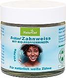 NaturGut Brilliant Super Zahnweiss Pulver Zahnaufheller 40g Enthält Menthol Frischer Atem durch naturreines…
