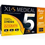 XLS Medical Forte 5 Pack 3 meses + Plan Nudge & Servicio Nutricionista Gratis | Origen Natural 100% Vegano | 540 cápsulas, 3