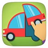 Camion, gru, Mezzi di trasporto e tutte le auto gratuito Puzzle Giochi - Applicazione Per Bambini Ragazze e ragazzi (Baby, Bambino e prescolare)