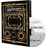 Abhikruti 3D Effect Golden Frames in PSD 1 PC (DVD)