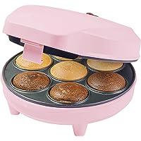 Bestron ACC217P Machine à Cupcake, 700 W, Rosa