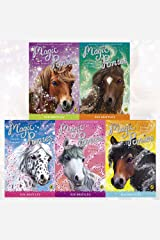 Magic Ponies Sue Bentley Collection 5 Books Set (A New Friend, Pony Camp, Seaside Summer, A Special Wish, Riding Rescue) Paperback