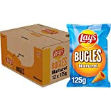 Lay's Bugles Naturel Chips, Doos 12 stuks x 125 g