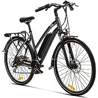 Elektrofahrrad E Bike VecoCraft Athena E-Bike Trekking Pedelec Vorführräder für Damen Herren, 28Zoll Urban Citybike, mit…