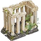 Nobby Acrópolis con Plantas Adornos de Acuario, 16 x 10,5 x 14,2 cm