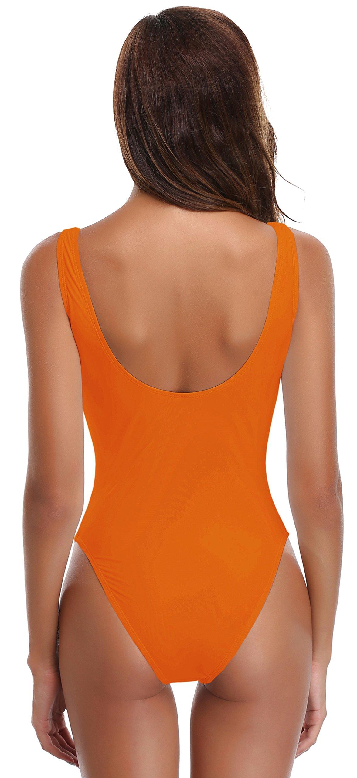 SHEKINI Donna Halter Sexy Un Pezzo Costume da Bagno Bikini Costumi Interi Back Criss Cross Side Straps Bandage… 2 spesavip