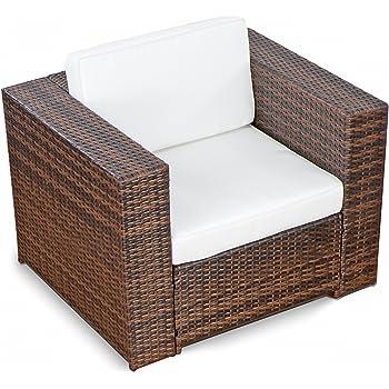Rattan gartenmöbel lounge günstig  Amazon.de: XINRO® (1er Premium Lounge Sessel - Lounge Sofa ...