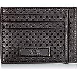 Hugo Boss Men's Trucker P_S Card N Holder, Black 1, ONESI
