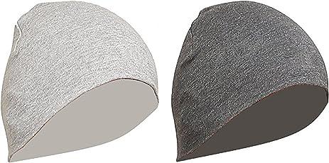 Huntsman Era Unisex Beanie Cap - Grey - Pack of 2