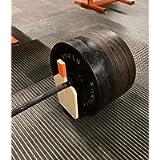 Deadlift Barbell Jack for Easy Barbell Loading and Unloading - Handmade in the UK