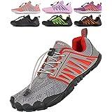 SUYSTEX Zapatillas descalzo para mujer, zapatos para hombre, zapatos de agua, zapatos de verano, zapatos de trekking, zapatil