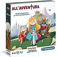 Clementoni- Party Games-All'avventura Gioco da Tavolo, Multicolore, 16156