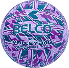 Belco Sports Aero-3 Volleyball (Cedro PVC,18 Pannel)
