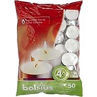 Bolsius 50 Tealights 4 Hour Burn Time Tea Lights Fast Postage