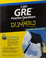 1,001 GRE Practice Questions for Dummies: With Free Online Practice