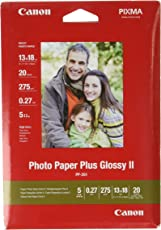Canon PP-201 Photo Paper Plus glossy 13x18 20Blatt